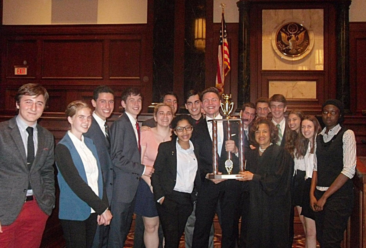 NYC HS Mock Trial Final: Congratulations to High School of American Studies at Lehman College!