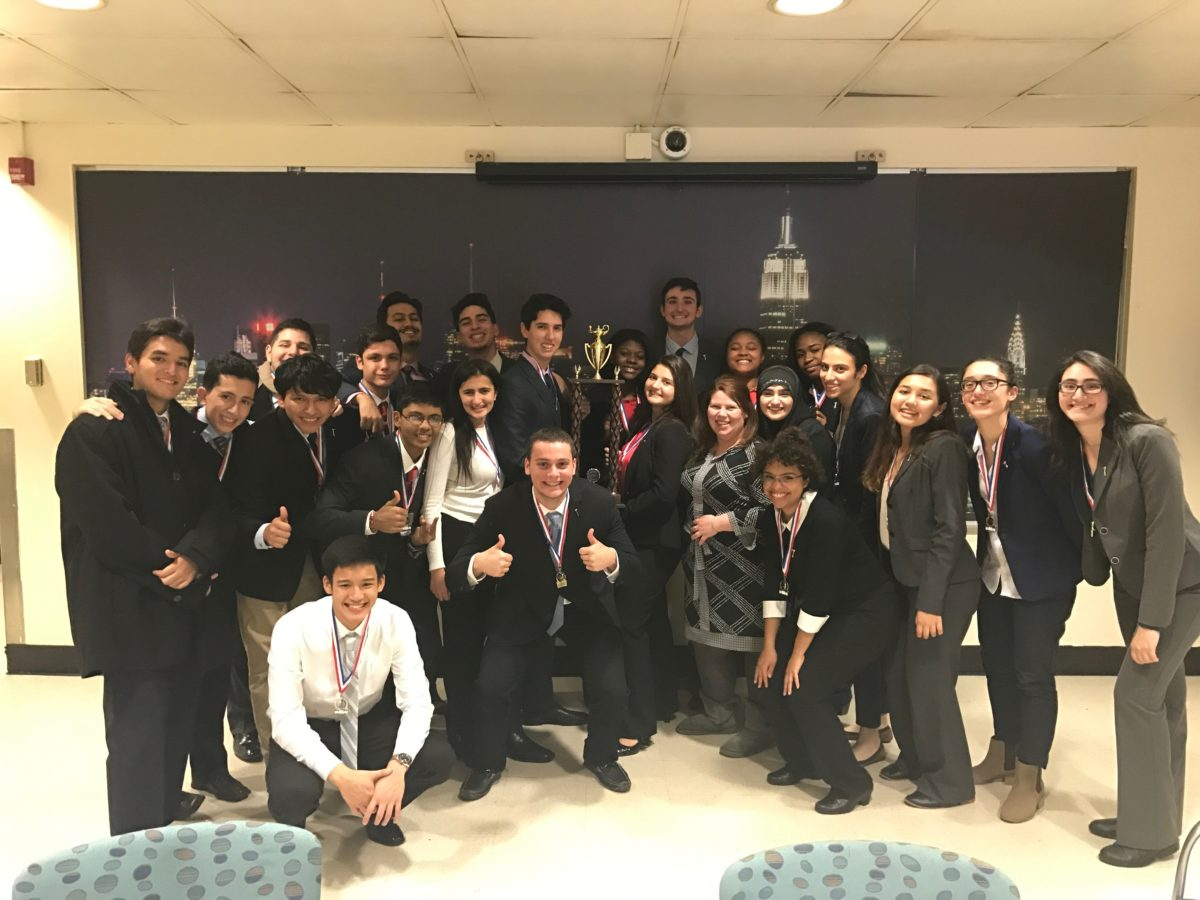 "Forest Hills High School Wins ""We the People"" City Competition"