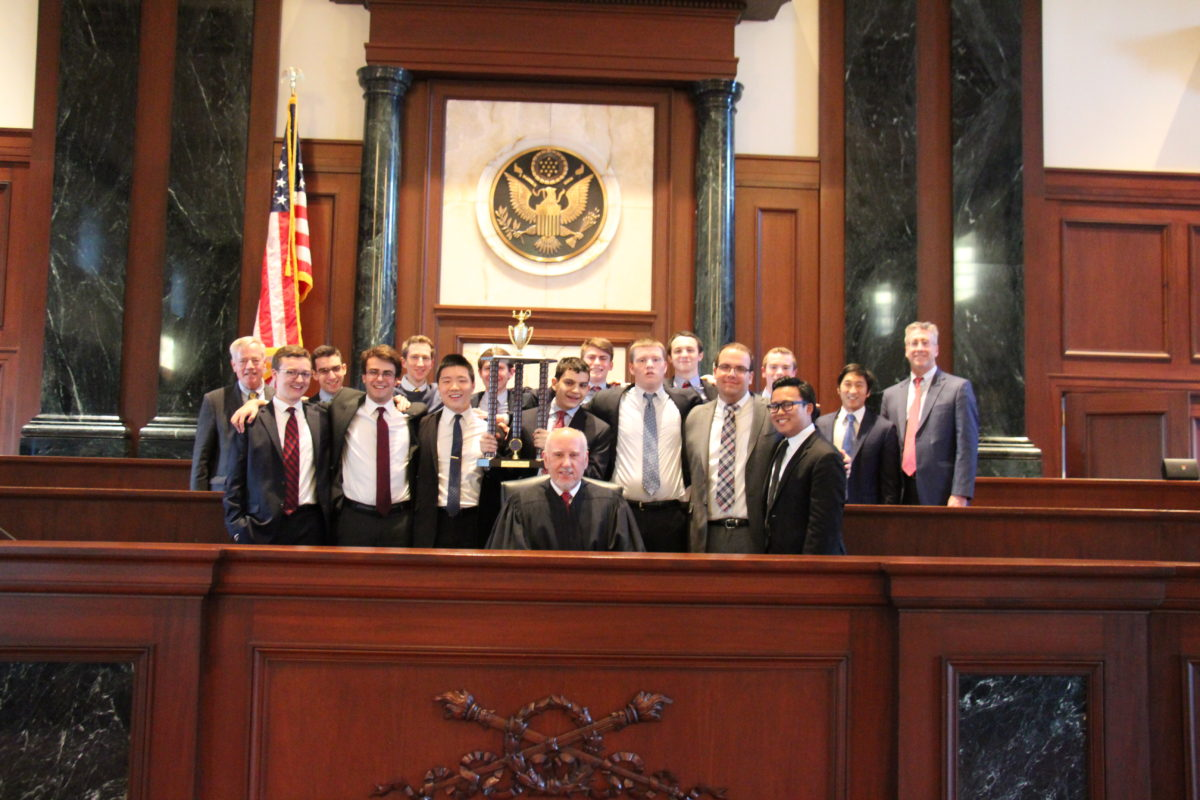 NYC Mock Trial teams come in 2nd and 3rd place at State Finals