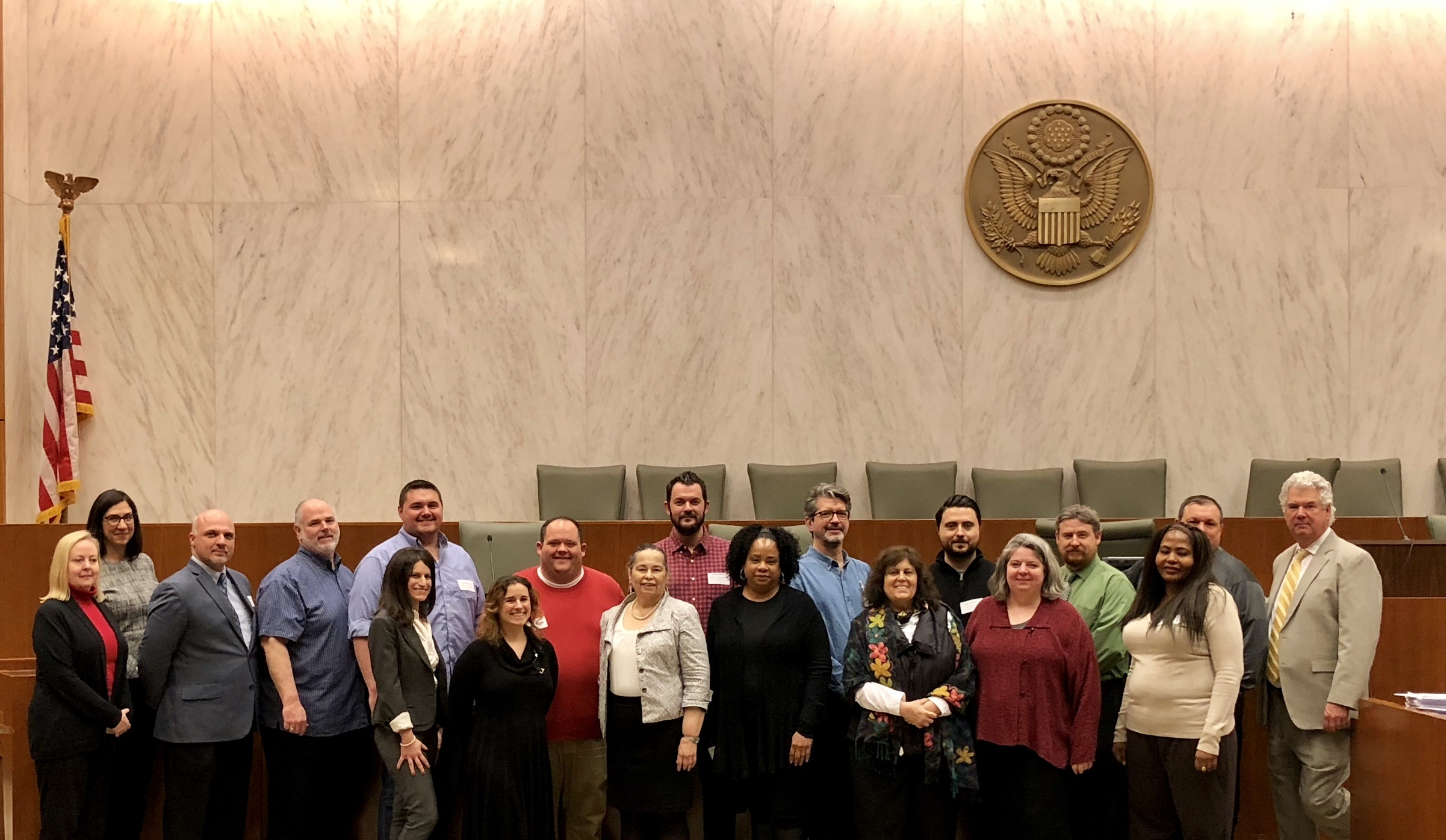 Law Enforcement Professional Development at the Eastern District Federal Court